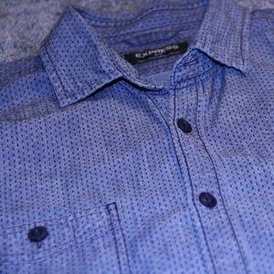 Express   Mens Casual Dress Shirt